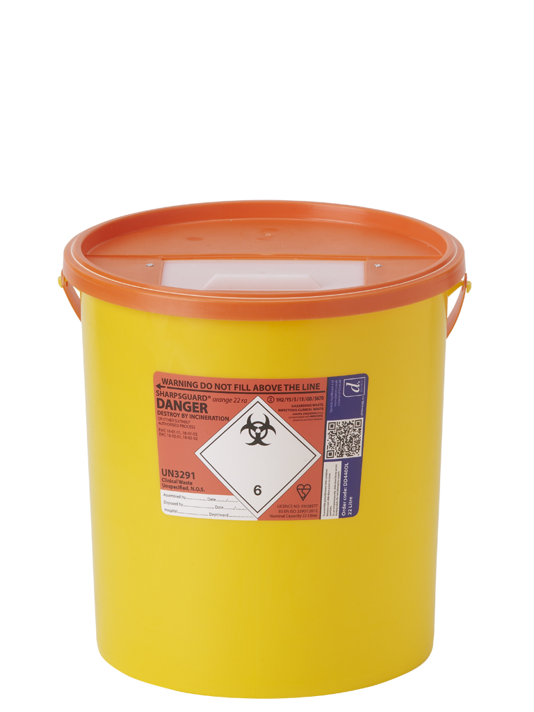 Sharps collection and waste disposal