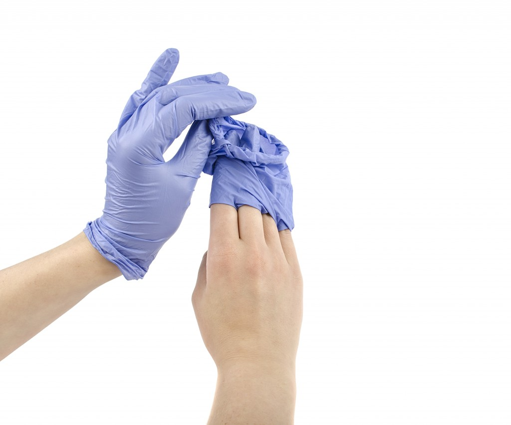 Gloves that have not been contaminated are offensive waste