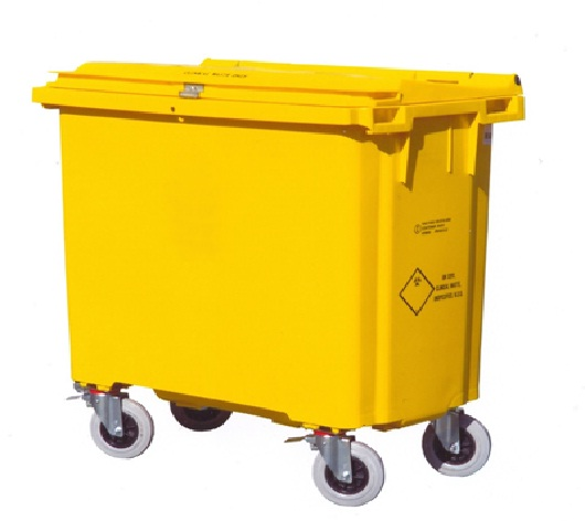 1000 litre wheelie bin
